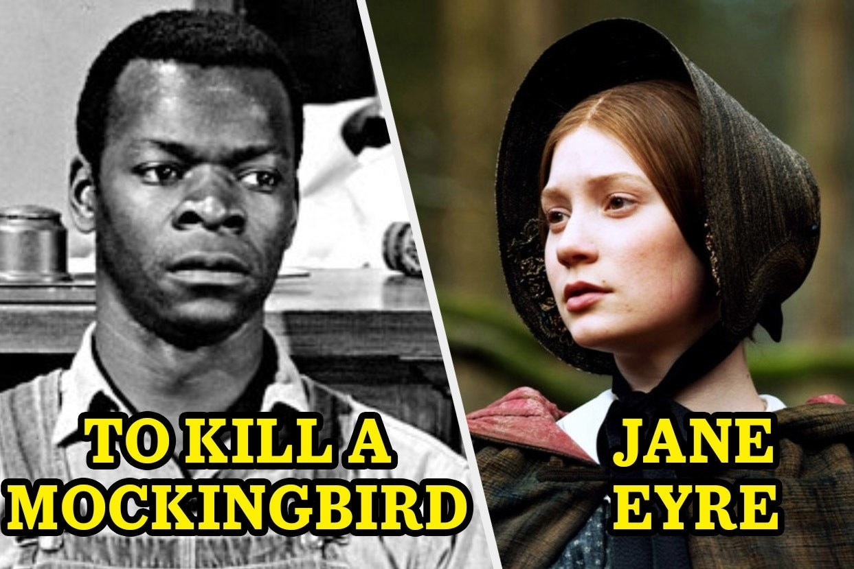 """To Kill a Mockingbird"" and ""Jane Eyre"""