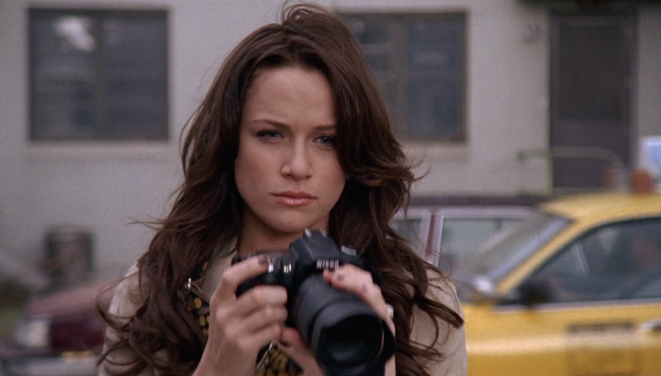 Quinn with a camera