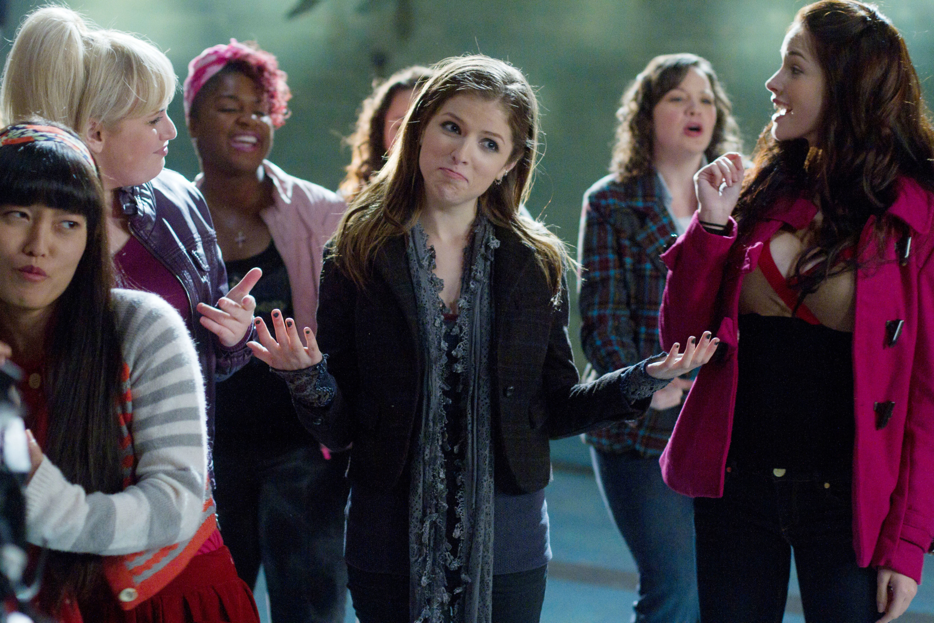 """The Barden Bellas in """"Pitch Perfect"""""""