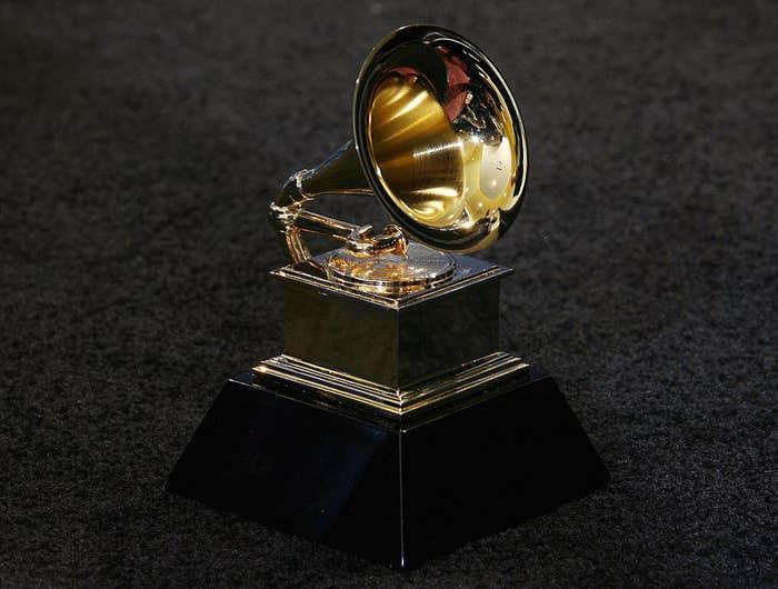 Trofi Grammy Awards di Los Angeles 11 Februari 2007. AFP PHOTO / Gabriel BOUYS