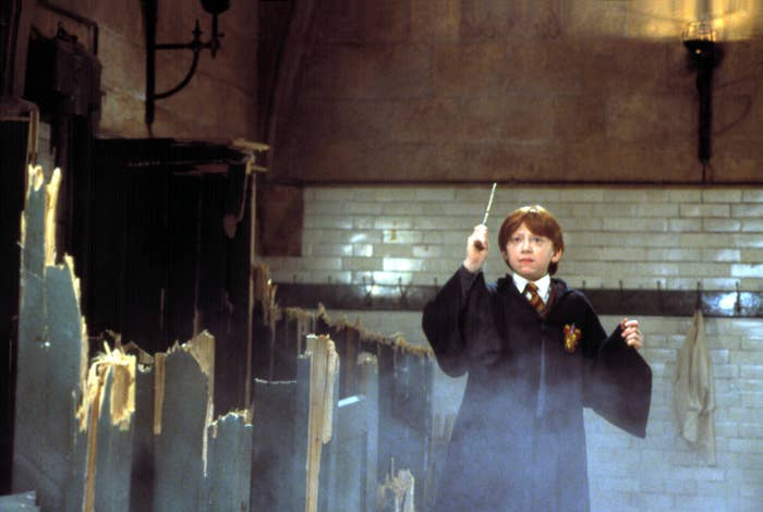 Rupert Grint in Harry Potter and the Sorcerer's Stone