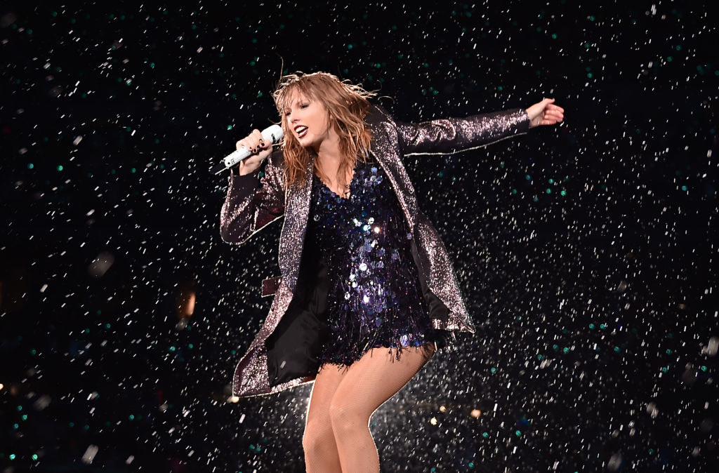 Taylor Swift performs onstage during the 2018 reputation Stadium Tour at Soldier Field on June 2, 2018 in Chicago, Illinois