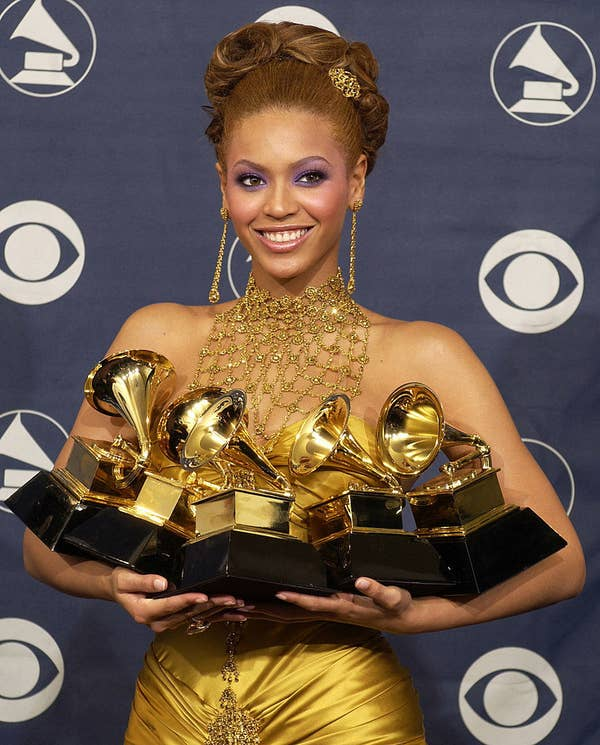 Beyonce di The 46th Annual GRAMMY Awards
