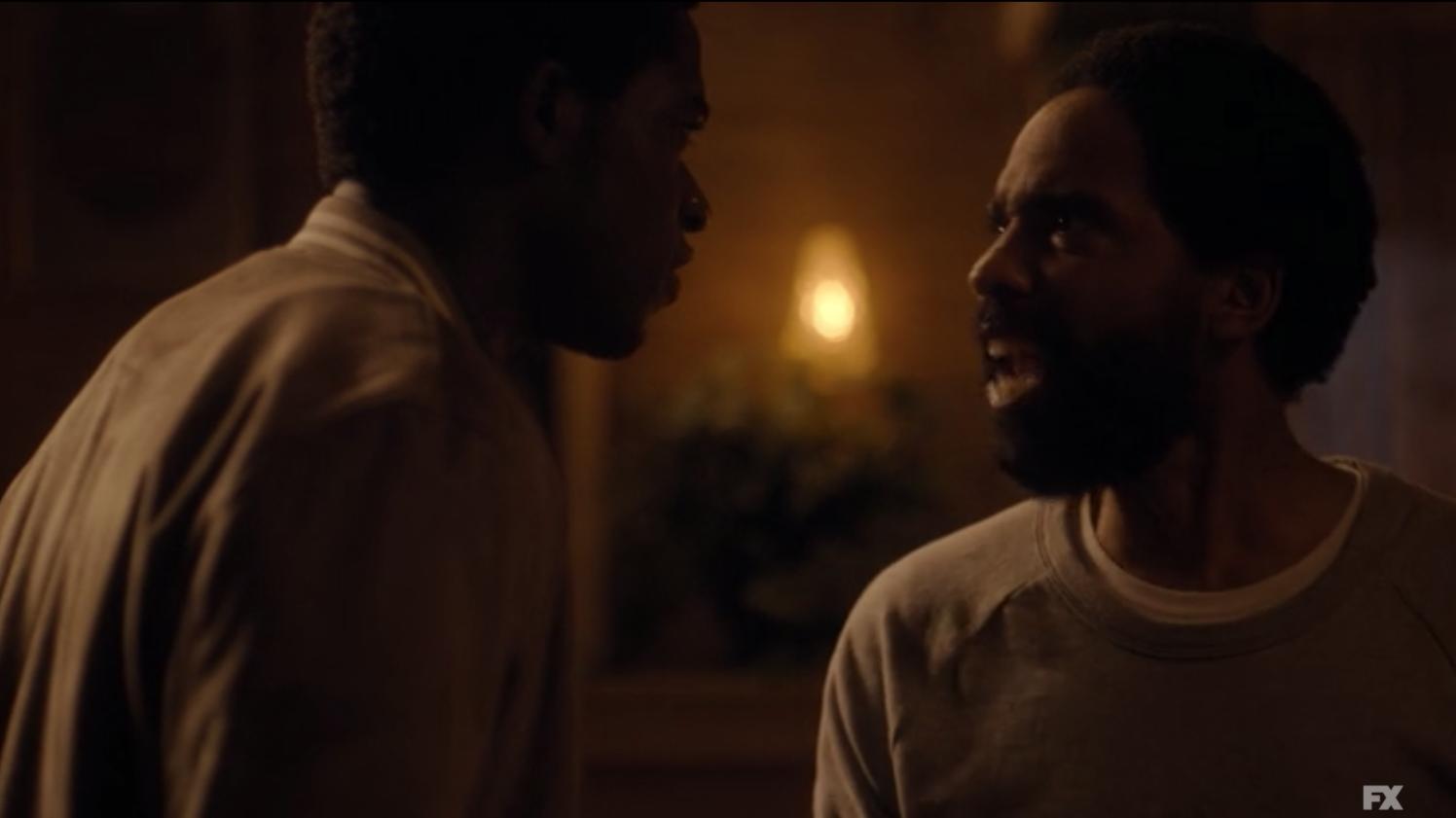 Franklin and Alton arguing