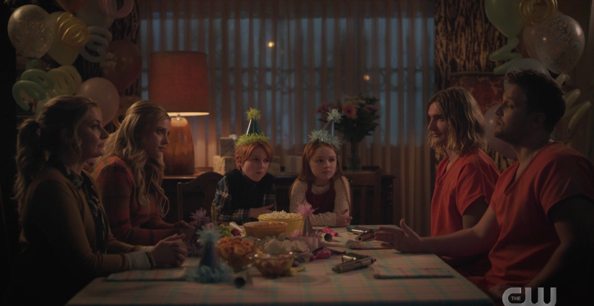 Cooper Family at the table