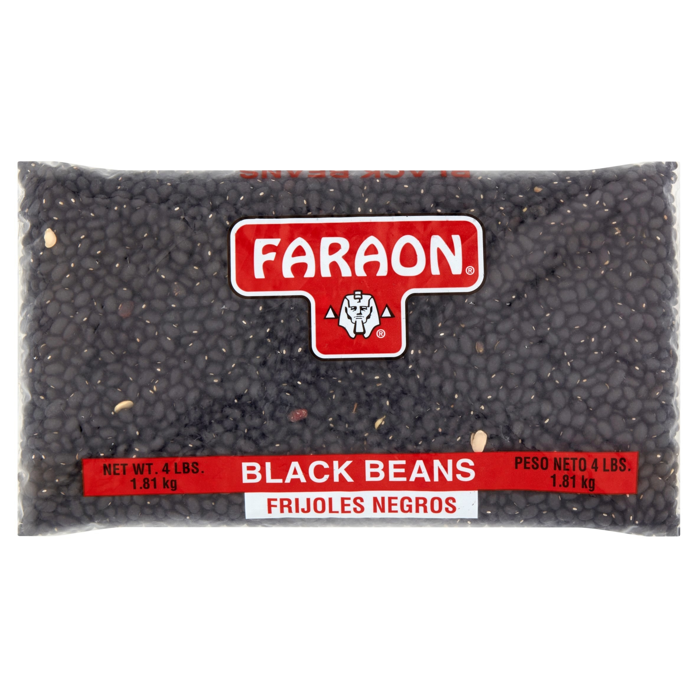 the bag of black beans