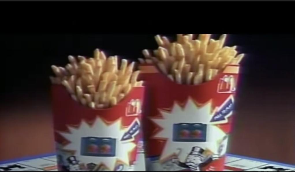 McDonald's Monopoly ad