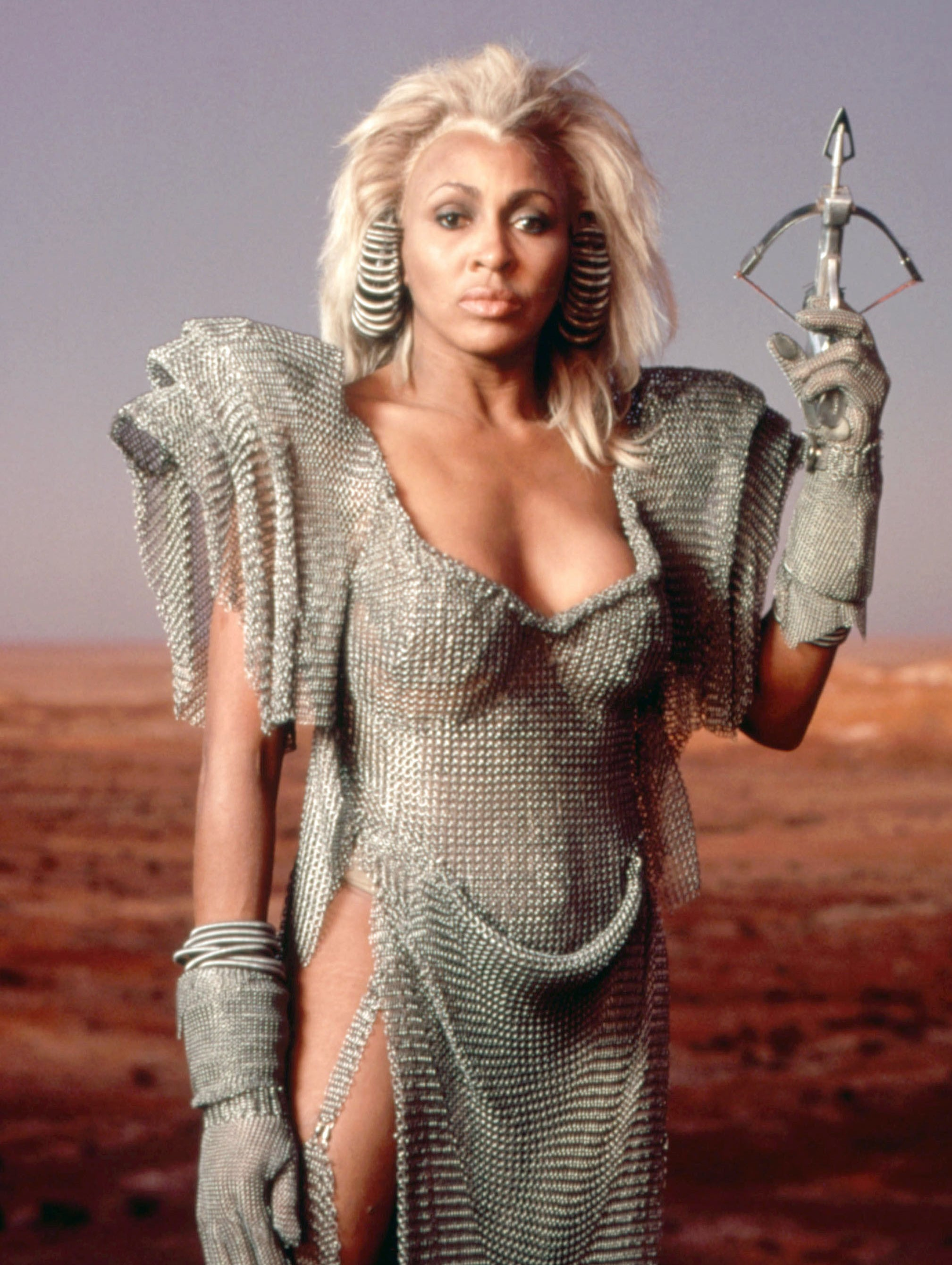 Tina Turner as Aunty Entity in Mad Max Beyond Thunderdome