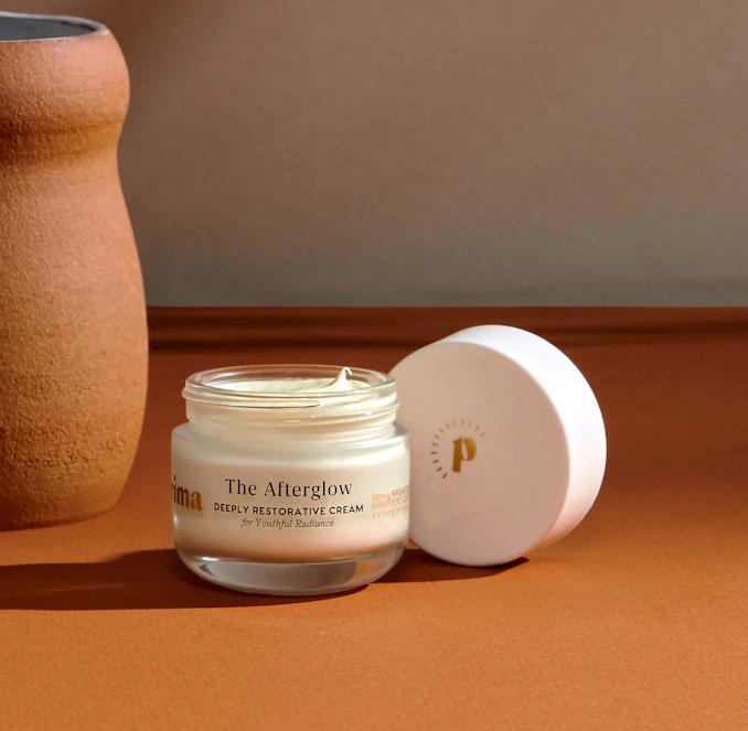 jar of Prima CBD cream