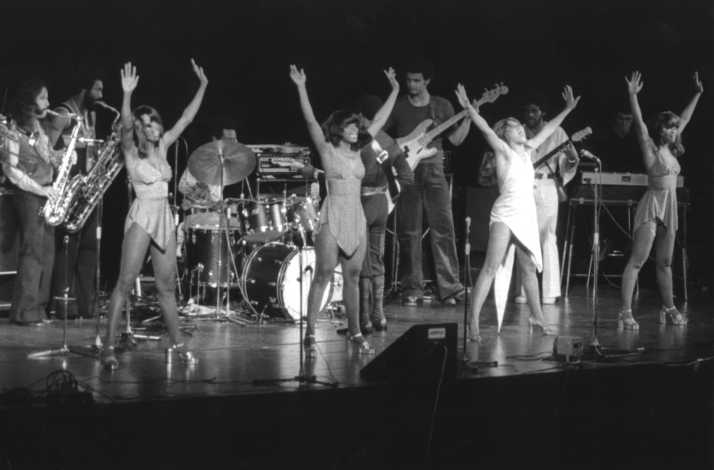 Tina Turner performing in 1973