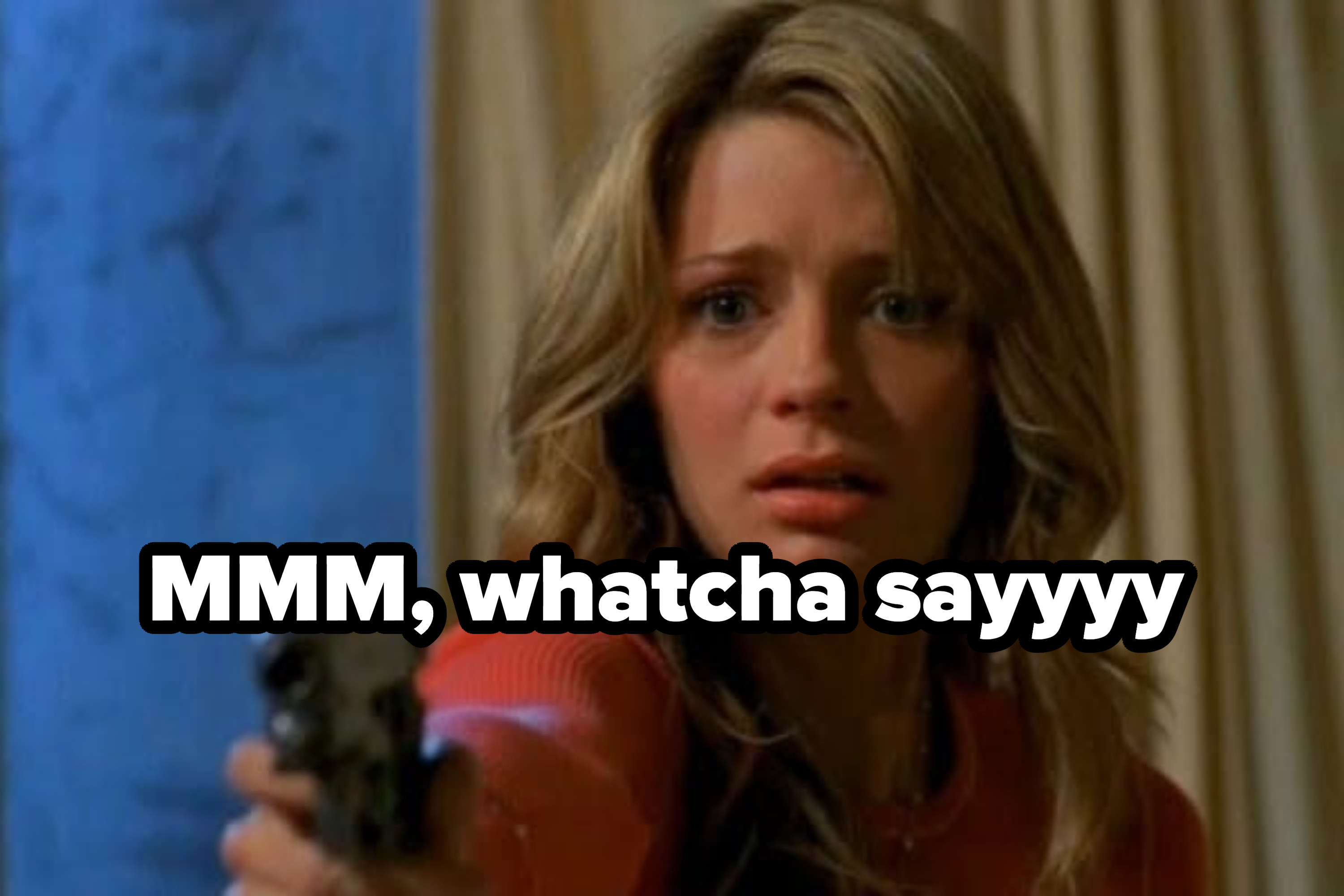 "Marissa shoots Trey on ""The O.C."" as ""mmm whatcha say"" plays"