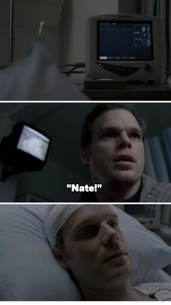 "Nate flatlines and David says, ""Nate!"""