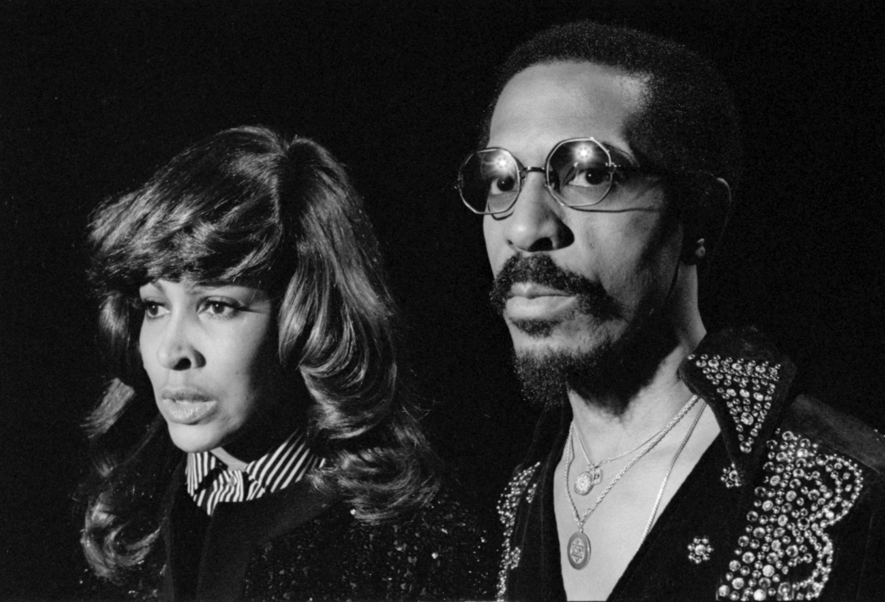 Ike and Tina Turner in 1975