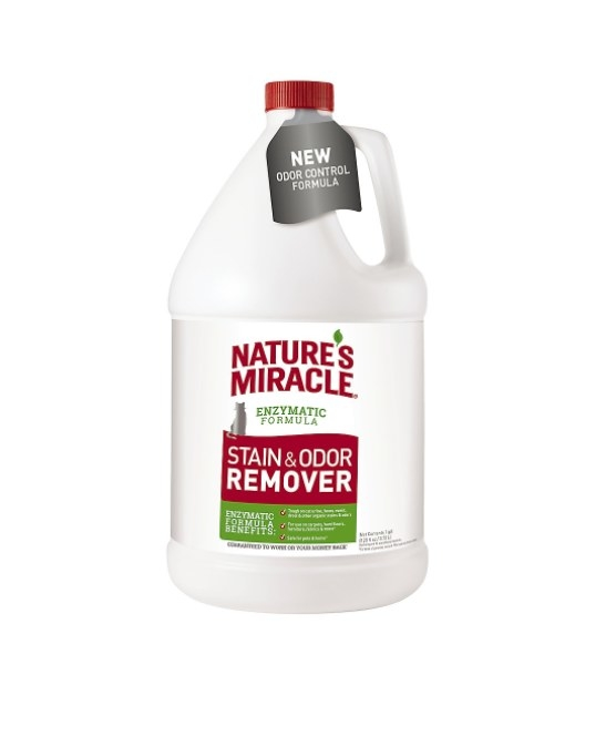 bottle of stain remover