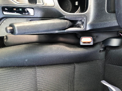 Reviewer's seats with gap filler in between