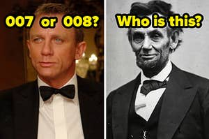 what's james bond's number? who is lincoln?