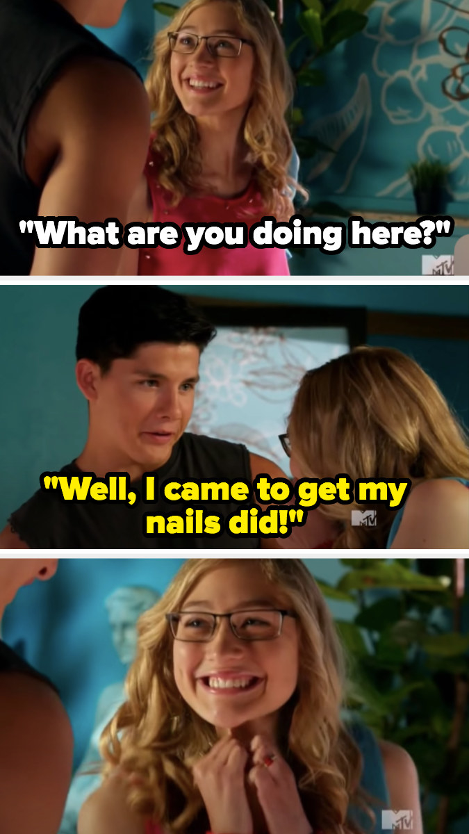"""Zig: """"I came to get my nails did!"""""""