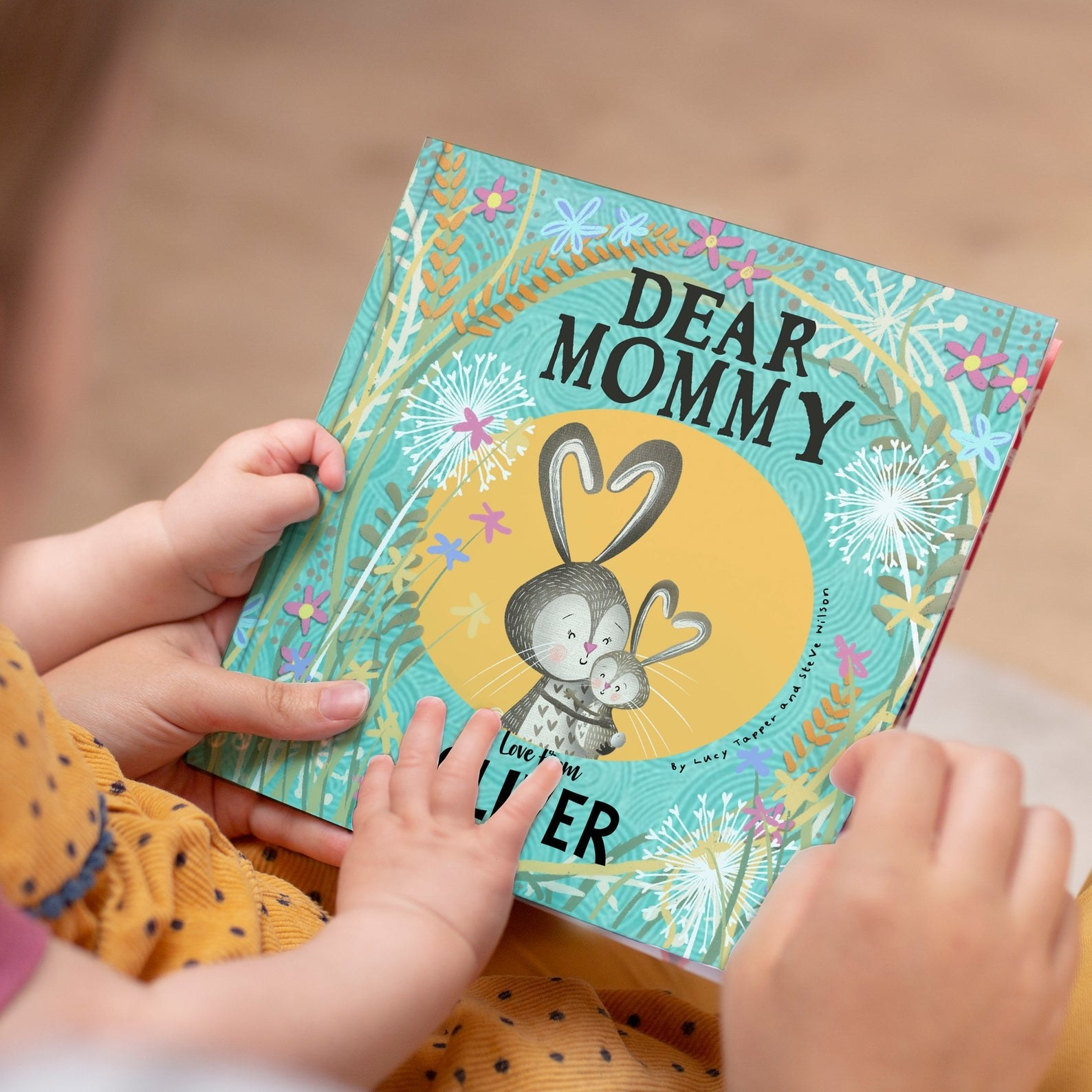 the dear mommy personalized story book