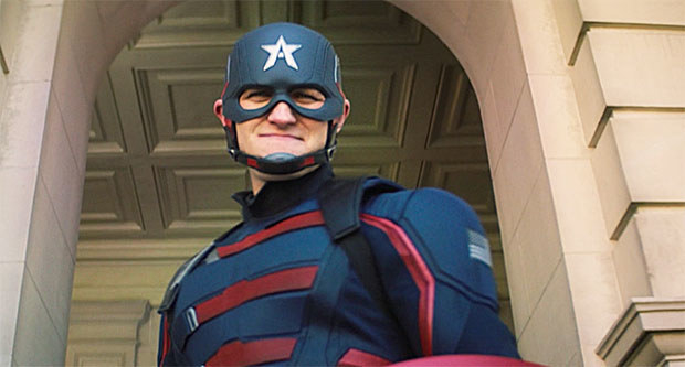 John Walker is the new Captain America...for now