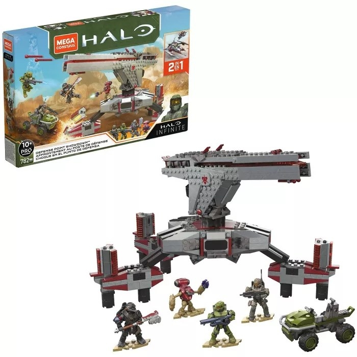 The Mega Contrux HALO Infinite construction set