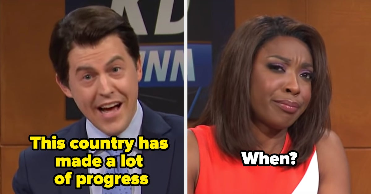 """""""SNL"""" Highlighted The Differences Between Black And White Americans, And This Is So Important"""