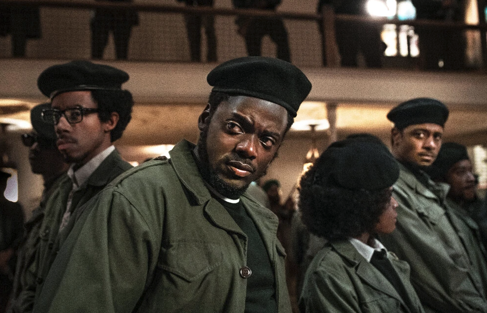 Daniel Kaluuya as Black Panther Fred Hampton in Judas and the Black Messiah