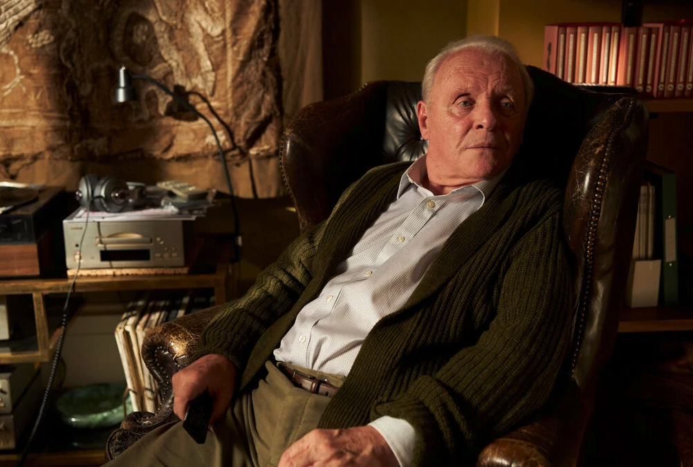 Anthony Hopkins in the film The Father