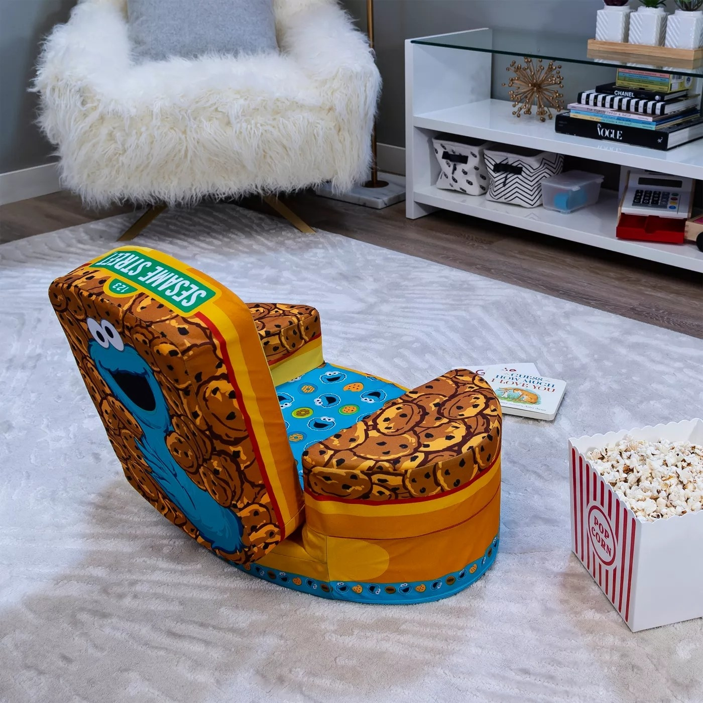 The Cookie Monster chair
