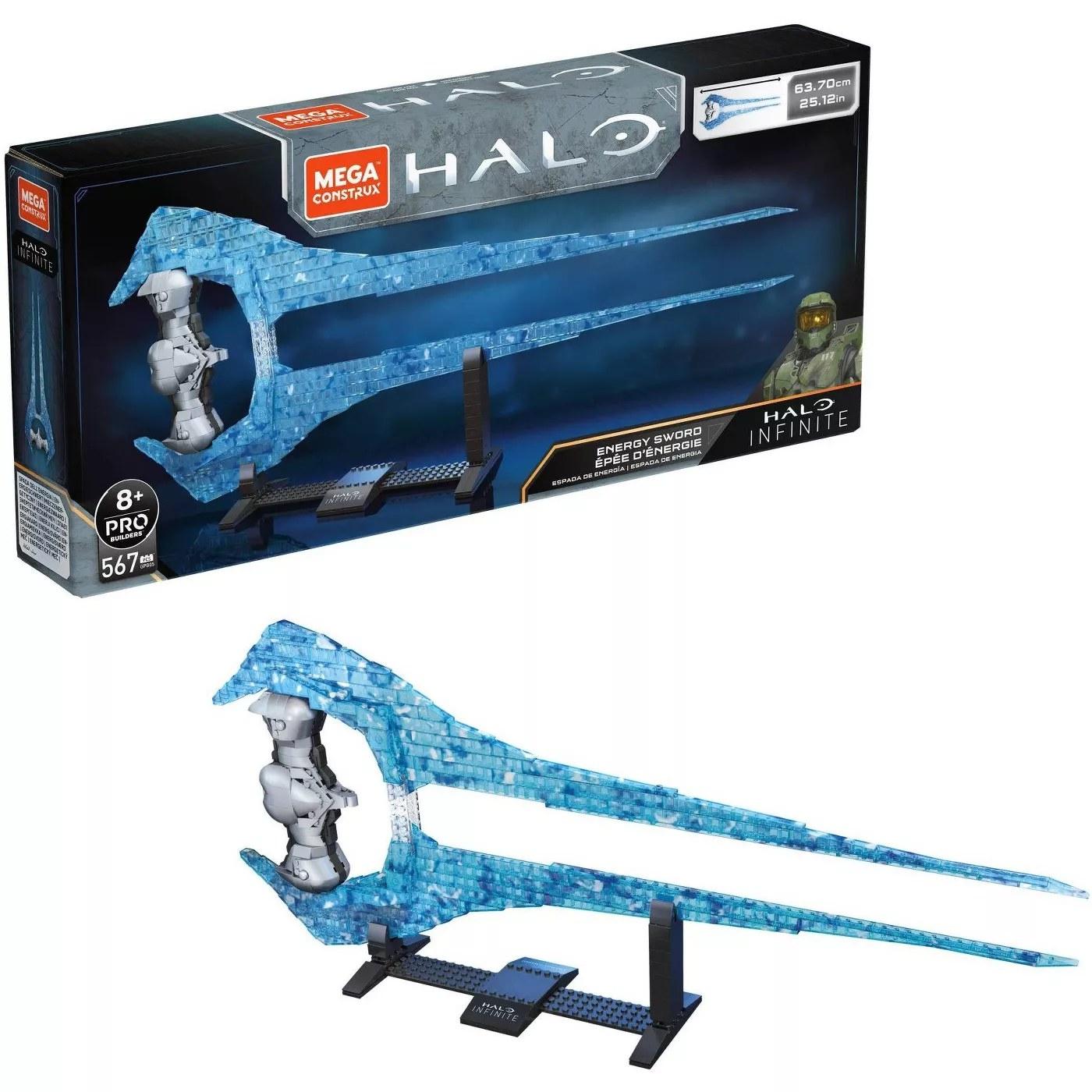The Mega Construx Halo Infinite Energy Sword