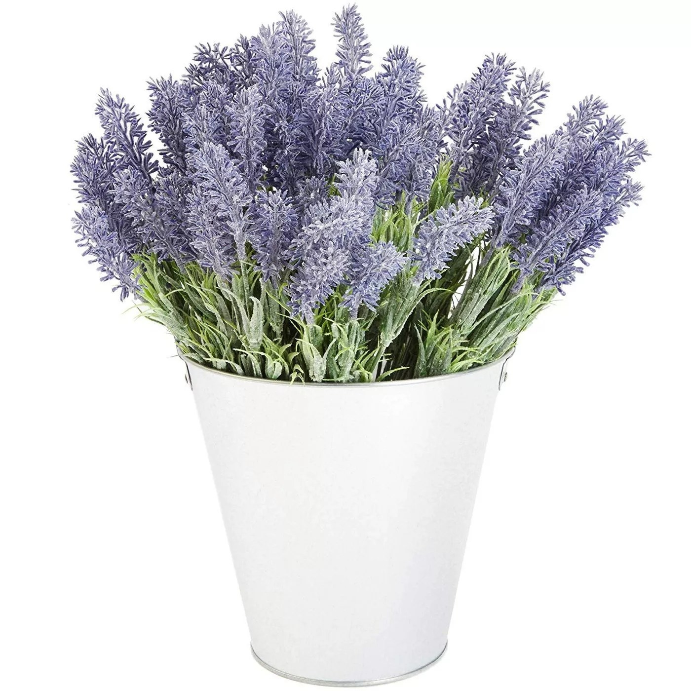 The artificial lavender flowers