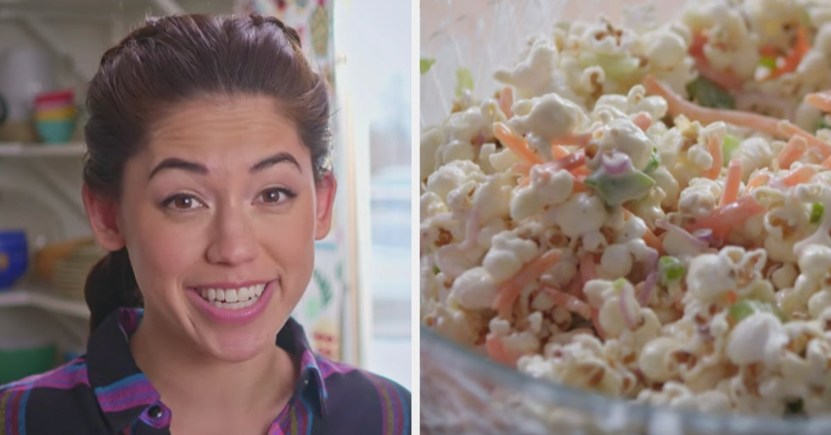 The Internet Is Roasting The Hell Out Of This Woman's Soggy Popcorn Salad