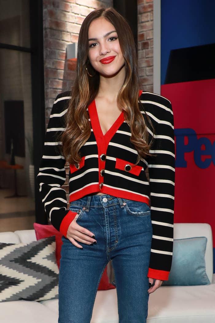 Olivia Rodrigo at People Now in November 2019