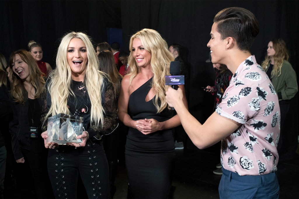 Britney Spears and Jamie Lynn Spears turned out for the 2017 Radio Disney Music Awards (RDMA), music's biggest event for families