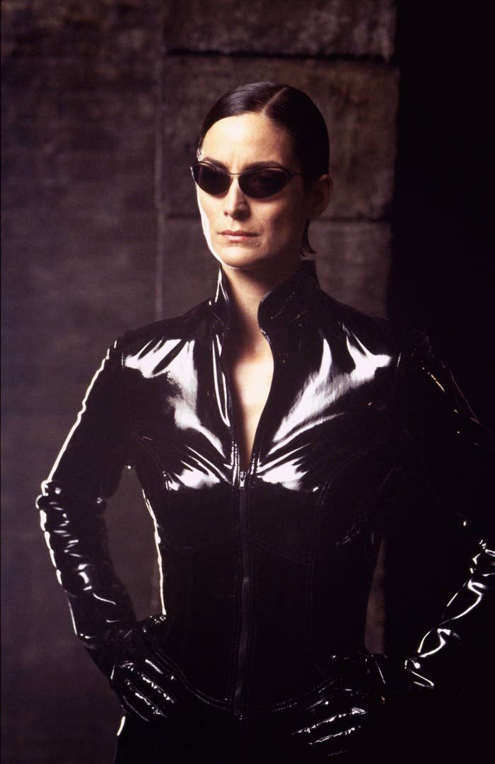 Carrie-Anne Moss in The Matrix Reloaded