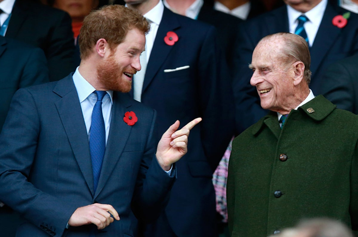 "Prince Harry Remembered His Grandfather In A Statement Honoring His ""Service, Honor And Great Humor"""