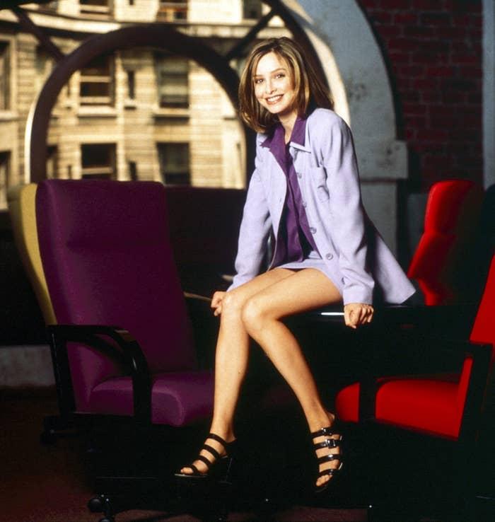 Calista Flockhart as Ally McBeal