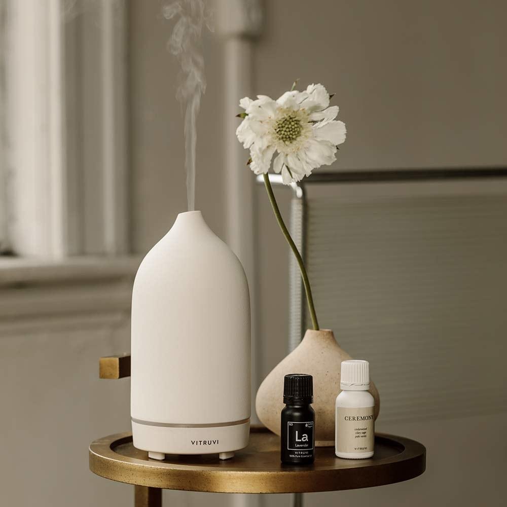 the white diffuser