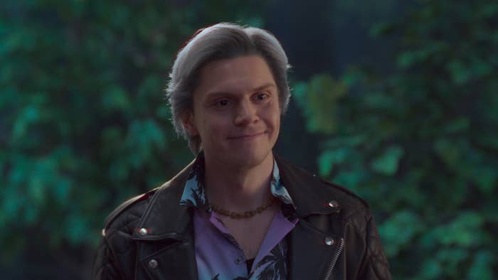 "Evan Peters in the ""WandaVision"" episode, ""On a Very Special Episode..."""