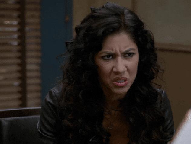Frustrated Rosa Diaz