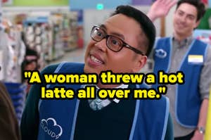 """""""A woman threw a hot latte all over me"""" over an angry store employee"""