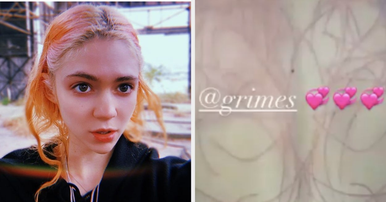 "Grimes Got A Humongous Tattoo Of ""Alien Scars"" On Her Back, And Whew, That's Some Dedication To Outer Space"