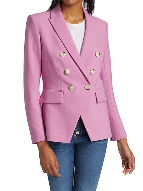 model wearing the blazer