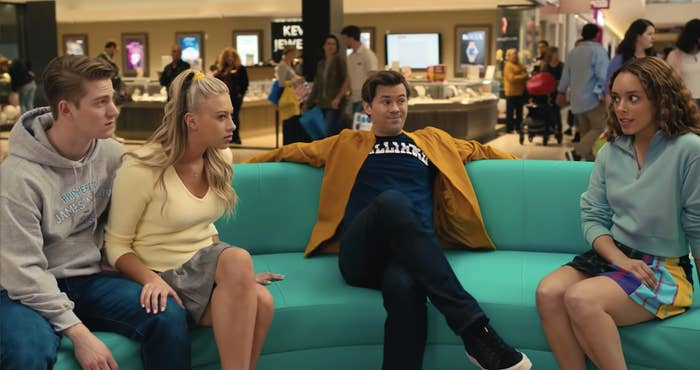 Andrew Rannells sits with teenagers reconsidering their homophobia