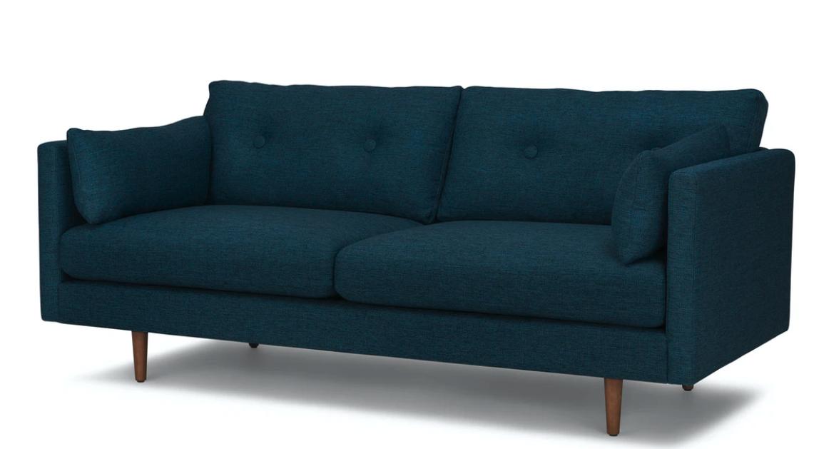The two-seat Anton sofa