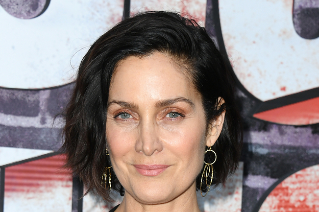 Carrie-Anne Moss Got Real About Ageism And Being Offered A