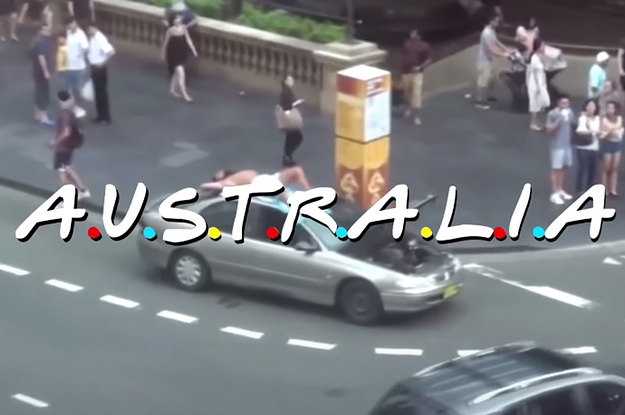 This Parody Of The Friends Introduction Perfectly Sums Up Australian Culture