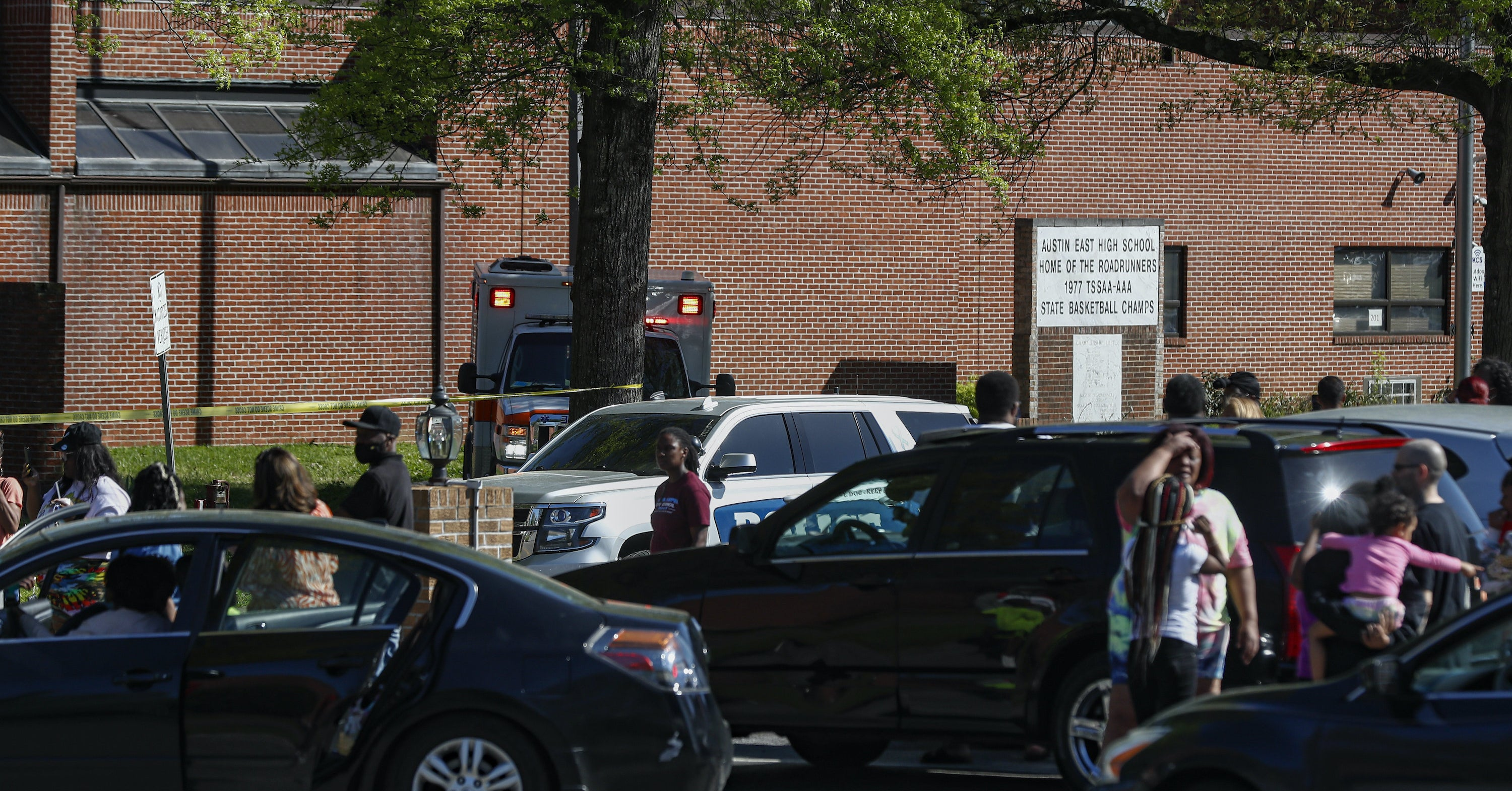 One Person Was Killed And An Officer Wounded During A Shooting At A High School In Tennessee