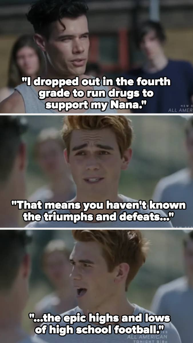 Archie describes the epic highs and lows of high school football