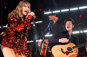 Taylor Swift and Shawn Mendes