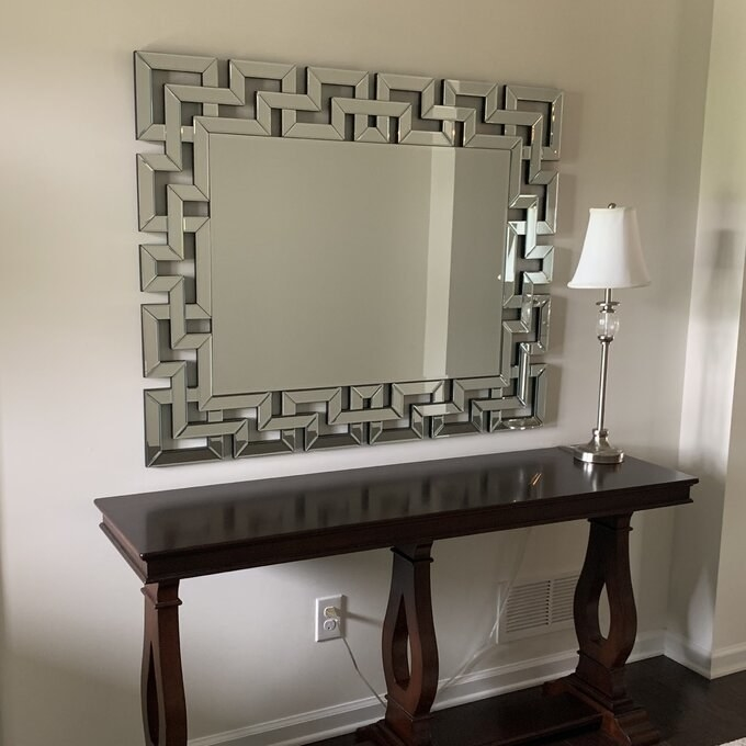 Review photo of the wall mirror